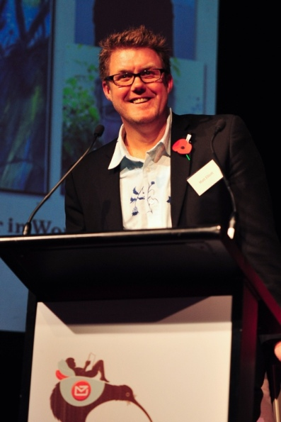2012 NZ Post Children's Book Awards Speech (Mark Tantrum/Booksellers)