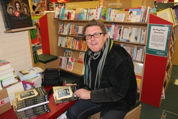 Book signing, Eason's Letterkenny, Co. Donegal, Ireland. Nov. 2012