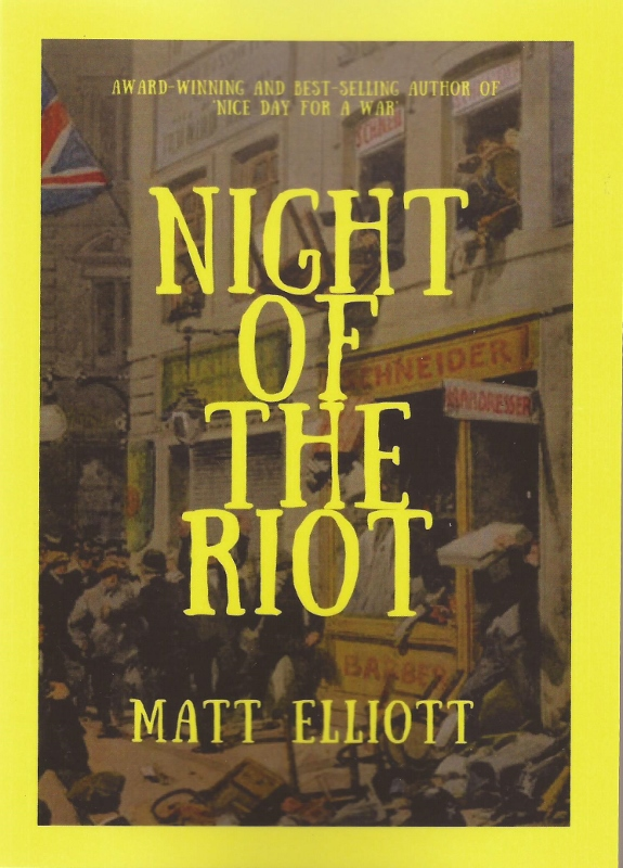 Night of the Riot cover